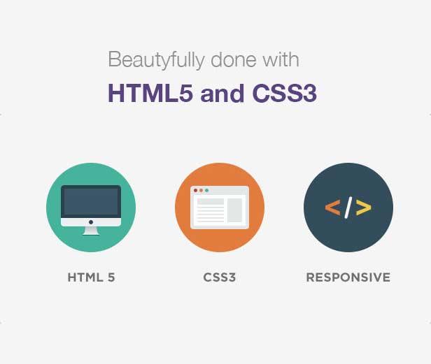 طراحی شده با html5 و css3