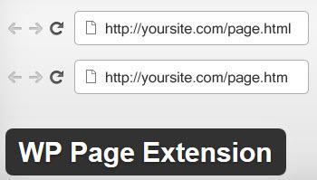 اضافه کردن پسوند به صفحات وردپرس