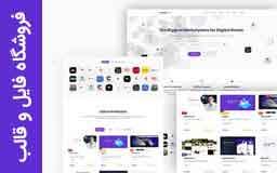 قالب وردپرس فروشگاه فایل و قالب با قابلیت چندفروشندگی ThemePlace